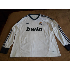 2172a84e72b4e Camiseta Real Madrid Manga Larga - Camisetas de Clubes Extranjeros ...