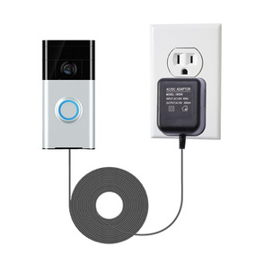 Adaptador De Corriente Lanmu Para Ring Video Doorbell 2 Rin