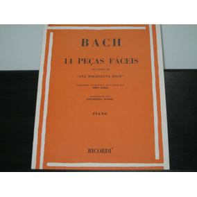 Bach - 14 Peças Fáceis Do Livro De Ana Magdalena Bach