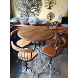 Conjunto Mesa E Cadeiras Bistrôs- Área Gourmet- Super Oferta