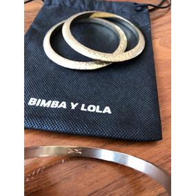 Pulseras Bimba Y Lola Color Cobre Con Cubrepolvo