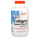 Colágeno Hidrolisado Tipo 1 E 3 1000mg C/vitamina C 540 Comp