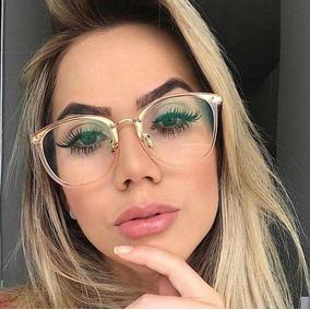 Oculos Redondo Grande Retro Feminino - Óculos no Mercado Livre Brasil bf8cb604e2