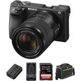 Cámara Sony Alpha A6500 Digital Kit Premium 18-135