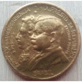Moeda Antiga: 1000 Réis: 7 De Setembro 1822- 1922 - Brasil