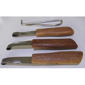 Kit Rinete-ferramentas Para Casqueamento Cavalos+martelo