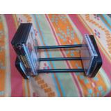 Mueble Porta Cd/dvd/bluray Black Steel Para Sala/dormitorio