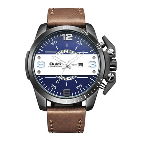 2d9b95b9447 Pulseira Relogio Oulm - Relógios no Mercado Livre Brasil