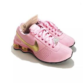 e2be19b31a0 Raridade Comprada Em Israel  Nike Shox Nz Dourado Num. 35 - Tênis no ...