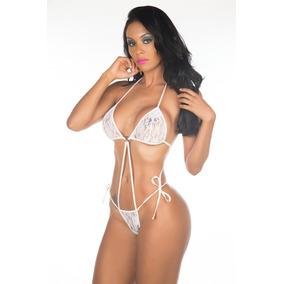 Mini Body Argola Renda Atacado Revenda Lingerie Pimenta Sexy