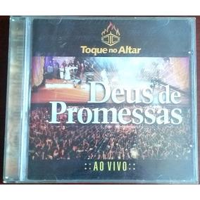 cd deus de promessas toque no altar playback