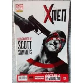 Revista Nova Marvel - X-men 15- O Julgamento De Scott Summer