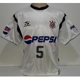 Camisa Do Corinthians Vampeta 2002 Original Topper - I2