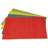 Set 4 Manteles Individuales Colores De Lujo Envio Gratis