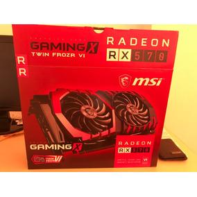 Tarjeta De Video, Msi Rx 570 Gaming X 8g (8gb) Gddr5