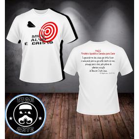 Camisetas Evang licas Personalizadas Meu Alvo   Cristo - Camisetas ... f0e026ece97