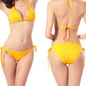 Traje De Baño 2 Piezas Bikini Playa