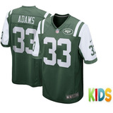 81007cd253 Camisa Nfl Futebol Americano New York Jets Verde Sanchez 6 no ...