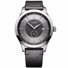 Reloj Victorinox Alliance 241765 Piel Gris Zafiro Ghiberti