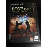 Juego Star Wars Episodio 3 Playstation 2