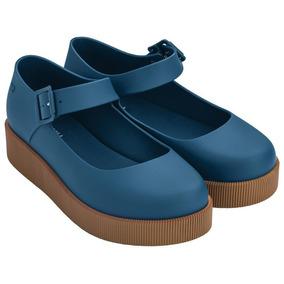 Sapato Zaxy Cover Mary Jane Azul