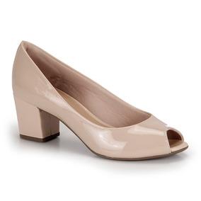 d9f4b2ef1c Peep Toe Salto Feminino Bruna Rocha - Sapatos no Mercado Livre Brasil