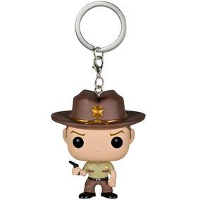 Funko Pop Keychain: Rick Grimes - The Walking Dead