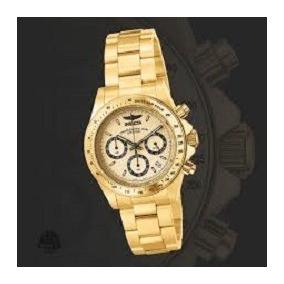 a8463c5c88b Ouro Nu Quartzo Masculino Invicta - Relógios De Pulso no Mercado ...