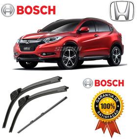 Limpador Parabrisa Bosch + Refil Traseiro Original Honda Hrv