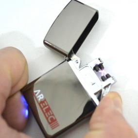 Encendedor Electrónico Recargable Usb 2 Rayos (ar04)