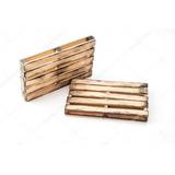 Palletes De Madeira 1,20 X 1,00 Cru Sem Acabamento Usado
