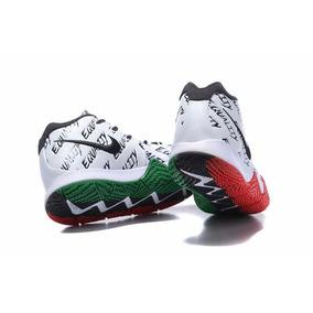 huge selection of cc210 8c9b1 Tenis Nike Kyrie 4 Bhm Black Hist (26.5 Al 31 Cm) En