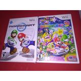 Mario Party Y Kart Nintendo Wii