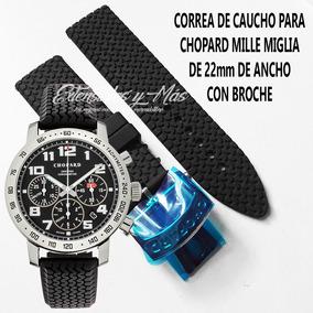 13259eadae50 Extensible De Caucho Para Reloj Broche Metalico - Relojes en Mercado ...