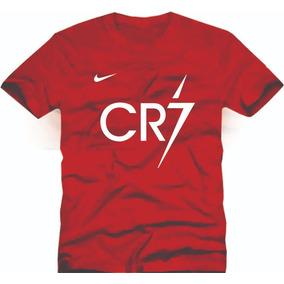 Camiseta Infantil Cristiano Ronaldo Futebol Cr7