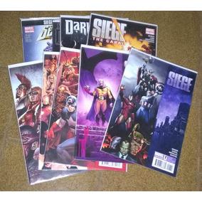 Minissérie Marvel - Siege - Importada - 9 Revistas