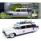 Ecto 1 Ghostbusters (cazafantasmas) Cadillac 1959 En 1:18
