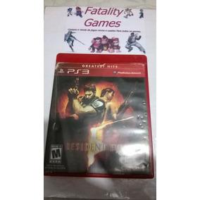 Resident Evil 5 - Mídia Física - Playstation 3 - Impecável