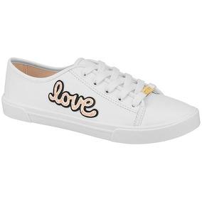Tênis Moleca Love Branco - Coleção 2019 173dfb6ea2c7e