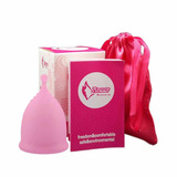 Copa Menstrual Menstrual Cup Con Vasito Esterilizador Gratis