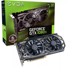 Placa De Video Evga Geforce Gtx 1080 Ti 11gb Gddr5x Black Ed
