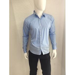 Camisa Azul Cielo Manga Larga