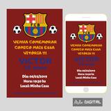 Convite Aniversario Barcelona No Mercado Livre Brasil