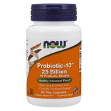 Probiotic 10 25 Bilhões 50 Cápsulas Now Foods