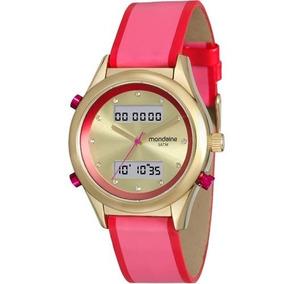ed2d39f4151 Relogio Mondaine Duncan Dourado Anadigi - Relógios no Mercado Livre ...