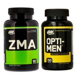 Combo Zma 90 Capsulas + Opti-men 150 Tabs Optimum Nutrition