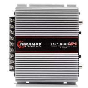 Módulo Taramps Ts400 Ts400x4 400w Rms 4 Canais 2 Ohms