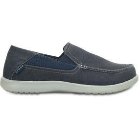 Crocs Originales Santa Cruz 2 Luxe M Azul