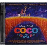 Coco Banda Sonora Soundtrack De La Pelicula 2 Dos Discos Cd
