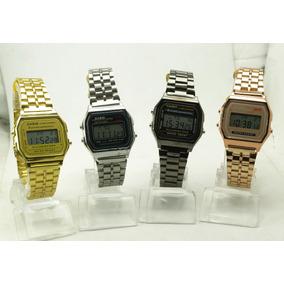 94016675165 Relógio Digital Casio A168 Ouro ( Gold ) Vintage - Relógios De Pulso ...
